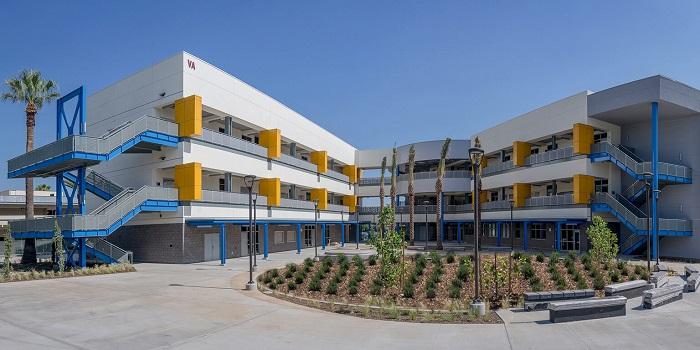 Ngôi trường Citrus College tại Los Angel mà Nhân theo học