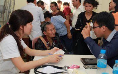 Hoạt động tình nguyện y tế Việt Nam - Lào