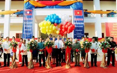 Lễ khánh thành và bàn giao công trình trường Trung học cơ sở Đông Savẳn