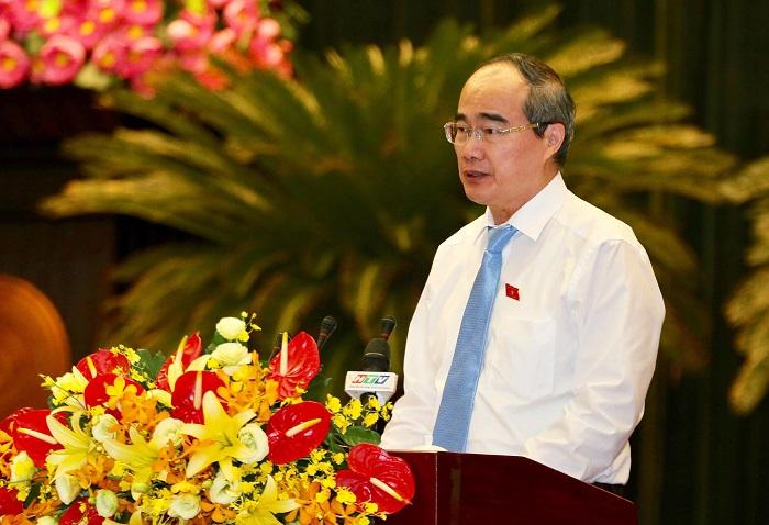Bí thư Thành ủy Nguyễn Thiện Nhân