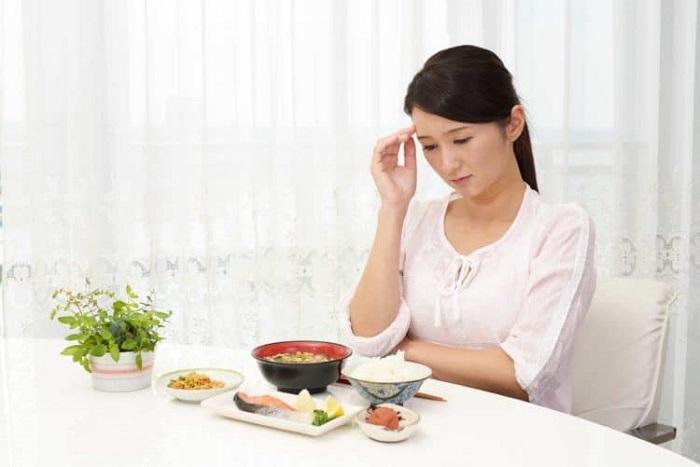 chán ăn ở phụ nữ mang thai