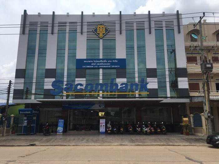 Trụ sở Chi nhánh Sacombank Savanakhet, Lào.