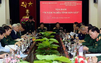 Meeting kỷ niệm truyền thống Liên minh chiến đấu Lào – Việt