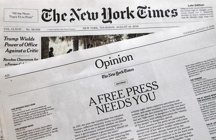 The News York Times một trong 5 tờ báo làm nên tên tuổi của chàng trai xứ Nghệ