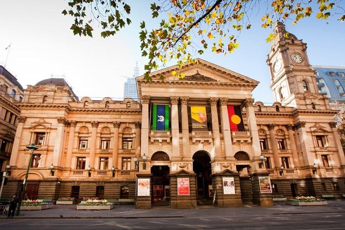 Melbourne Town Hall – Một trong những công trình mang nét kiến trúc đặc sắc nhất.