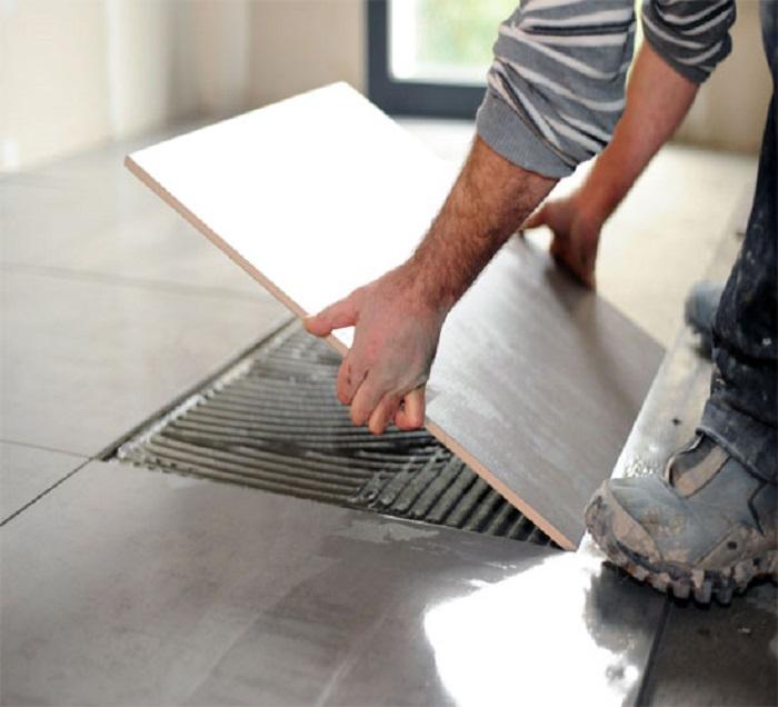 Keo dán gạch dễ dàng sử dụng và đem lại nhiều ưu điểm vượt trội
