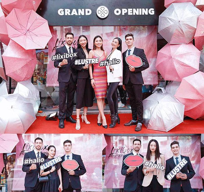 Sự kiện khai trương cửa hàng Lixibox 160 Phan Xích Long, phường 7, quận Phú Nhuận